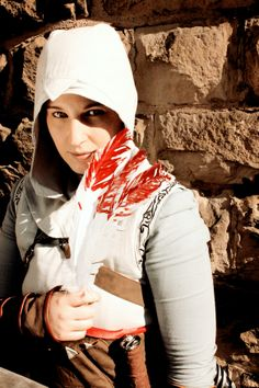Me as Altair from Assassin's Creed Awesome Cosplay, Best Cosplay, Assassins Creed Costume, Assassin's Creed, Crossover, Video Game, Addiction, Fandoms, Costumes
