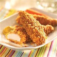 Crispy Onion Chicken TendersGreat Recipes from FRENCH'S® Foods   FRENCH'S Mustard, Fried Onions, Worcestershire Sauce Products
