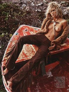 Vogue Paris June:July 2013 - Anja Rubik by Mario Sorrenti 3