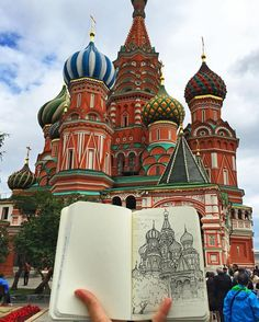 Drawing The Places I Visit Is My Reason To Travel Around | Bored Panda