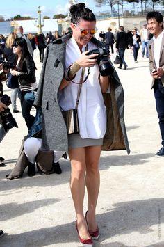 oversized coat of Garance Dore