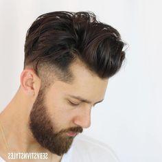 Mens Modern Hairstyles, Classic Haircut, Low Fade, Pompadour, Fade Haircut, Hair Cuts, Undercut, Hair Styles, Ideas