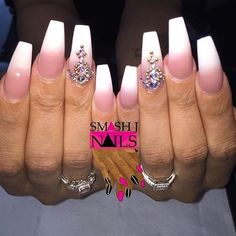Love this set using Whitest White and P3 by @nailsbysmash :nail_care::nail_care::nail_care: