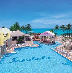 Sandals Resorts  in the Caribbean