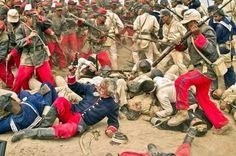Glory of the Pacific Military Diorama, Military Art, Military History, Military Uniforms, War Of The Pacific, American War, Napoleon, Victorian Era, Warfare