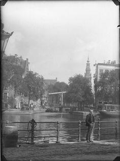's-Gravelandse Veer | Binnen-Amstel | Staalkade, Amsterdam 1890. Foto: Jacob Olie