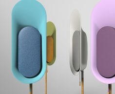 OLi is a stand-type Bluetooth speaker that allows music to fill up your surrounding. OLi is to be stood in different areas of the house instead of filling up spaces on tables or shelves. Id Design, Design Studio, Design Trends, Module Design, Color Plan, Speaker Design, Bluetooth Speakers, Portable Speakers, Consumer Products