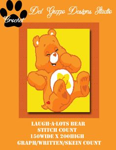 (4) Name: 'Crocheting : Care Bears Laugh-a-Lot Bear 150x200