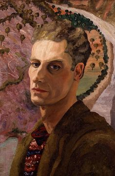 Cedric Lockwood Morris Self-Portrait, Painter and founder of East Anglian School of Painting where studied Monet Paintings, Your Paintings, Landscape Paintings, Harlem Renaissance, Caravaggio, Monet Garden Giverny, Pablo Picasso, Morris, Canvas Art