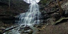 Sherman Falls from Hamilton, ON, Canada