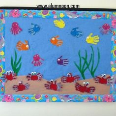34 Ideias de decoração de Sala de aula - Tema fundo do mar - Educação Infantil - Aluno On
