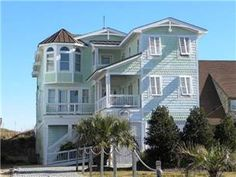 "The ultimate Nags Head vacation experience awaits you in this beautiful 12 bedroom oceanfront vacation rental. ""The Stars"" is conveniently located at ..."