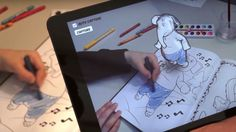 Disney is using augmented reality to bring coloring books to.- Disney is using augmented reality to bring coloring books to life Disneys Augmented Reality Colouring Book - Coloring Book App, Toddler Coloring Book, Coloring For Kids, Colouring, Augmented Virtual Reality, Album Jeunesse, Ares, Book Launch, Toddler Books