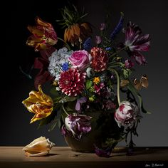 floral still life photography on Photography Bas Meeuws Dutch Still Life, Still Life Art, Art Floral, Still Life Photography, Art Photography, Contemporary Photography, Inspiration Artistique, Still Life Images, Still Life Flowers