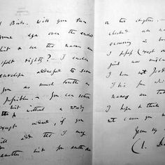 Lettera autografa di Charles Darwin risalente al 1870  [Copyright - The Zoological Society of London]