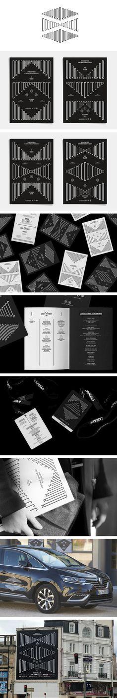Identity, Branding, Client, Corporate Design, Typo, Film Festival, Logo Design, Style Inspiration, Fashion