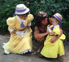 Not only does 3-year-old Lane Rouch have an awesome mom who sews her the most gorgeous Disney costumes, she gets to go to Disney World weekly to show them off and have a great time. When her mom, Jennifer Rouch, started to notice that Lane was incredibly shy, she decided to try to build up her confidence. Since they live in Florida and Lane is a big Disney fan, Jennifer thought up a wonderfully magical plan: She would use her sewing skills to create beautiful costumes for her little girl out…