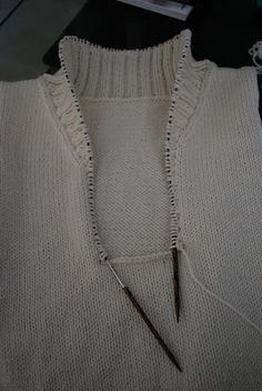My Husband Is a Yarn Widower: Shawl Collar Pullover