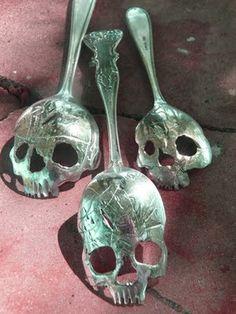 Absinthe spoons -- or coffee stirrers?