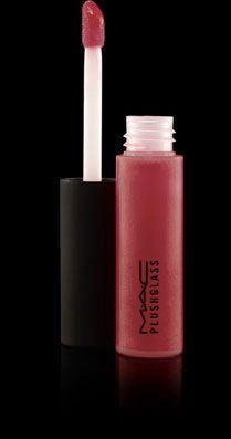 """M.A.C. Makeup-- PlushGlass lipglass--fabulous color """"power supply"""" --best lip gloss to put over a lipstick or give you that perfect shine--obsessed."""