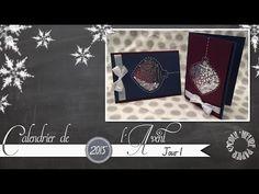 Coul'Heure Papier: [Calendrier de l'Avent - Jour 1] Carte Shaker Boule de Noël