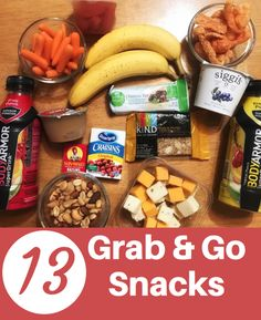 13 Grab-and-go snack