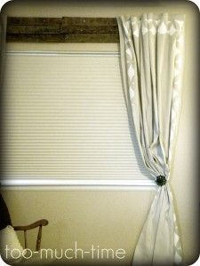 Neat curtain rod idea