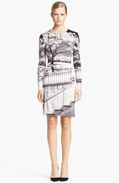 Mary Katrantzou Print Jersey Dress. I am obsessed with Ms. Katrantzou's prints.