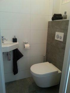 Toilet tegels voorbeeld idee badkamer toitel idee n for Indirecte verlichting toilet