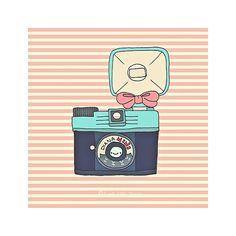 Adorable Diana camera print