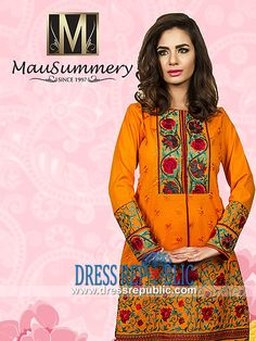 Mausummery Embroidered Lawn Dresses for Eid 2014  Shop Online Mausummery Embroidered Lawn Dresses for Eid 2014 in Ohio and Washington, USA. We Deal in Complete Sets with Stores and Fabric Shops. by www.dressrepublic.com