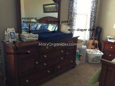 Tour of Homes: My Temporary Nursery Setup