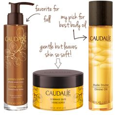 Divine Caudalie products //  perfect for Fall