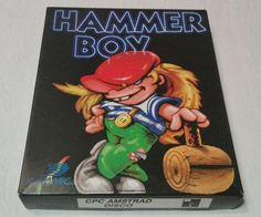 Hammer Boy Amstrad Disco COMPLETO COMO NUEVO ESPAÑA