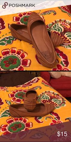 Lucky Brand flats Good condition- not used much. Lucky Brand Shoes Flats & Loafers