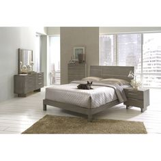 Found it at Wayfair - Violet Platform Customizable Bedroom Set