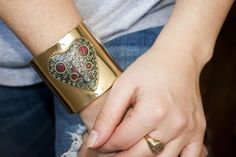 The ALISON Fitbit Bracelet securely conceals your Fitbit Flex Activity Tracker! | Best Trends For Life: Boho Chic