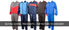 school tracksuits manufactures