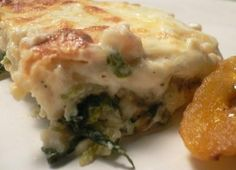 White Lasagna Weight Watcher recipe