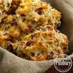 A delightful addition to dinner, bake these Featherlight Cheddar-Ranch Puffs from Pillsbury™ Baking!