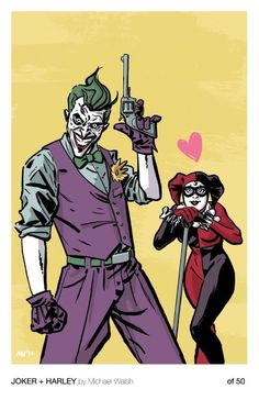 The Joker showing off for Harley.
