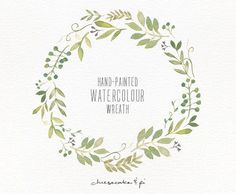 Watercolors, Wreaths and Clip ...
