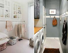 Quatro dicas para uma lavanderia bonita e funcional - Yahoo! Mulher