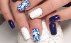 25+ Winter Nail Arts Designs And Ideas You Must Try