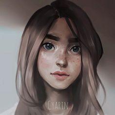 Portrait by Cyarin.deviantart.com on @DeviantArt