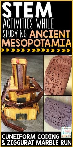 Ancient Mesopotamia STEM Ideas!