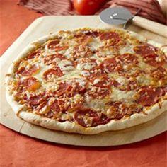 Homemade Pepperoni Pizza - Allrecipes.com