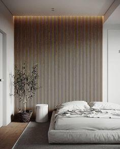 Home Interior Inspiration .Home Interior Inspiration Wood Slat Wall, Wood Slats, Wood Slat Ceiling, Wooden Wall Panels, Wood Panel Walls, Wood Wall Decor, Modern Interior, Home Interior Design, Interior Colors