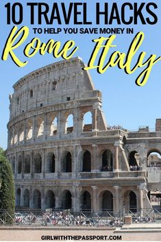 When you plan Rome, Italy travel, visits to the Coliseum, the Vatican Museum, and the Roman Forum ca Italy Travel Tips, Rome Travel, Travel Destinations, Travel Europe, Backpacking Europe, Cinque Terre, Verona, Pisa, Travel Guides