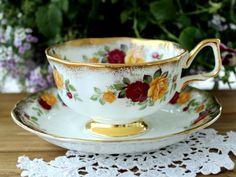 Arklow Irish Bone China Tea Cup Vintage Teacup by TheVintageTeacup
